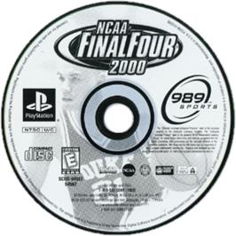 Artwork on the CD for NCAA Final Four 2000 on the Sony Playstation.