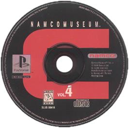 Artwork on the CD for Namco Museum Vol. 4 on the Sony Playstation.