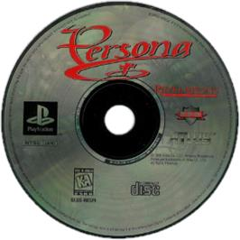 Artwork on the CD for Persona on the Sony Playstation.
