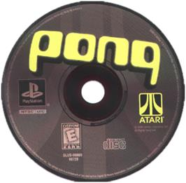 Artwork on the CD for Pong: The Next Level on the Sony Playstation.