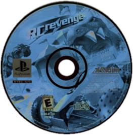 Artwork on the CD for RC Revenge on the Sony Playstation.