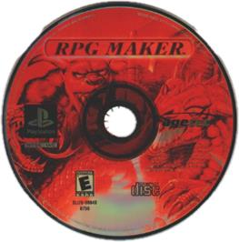 Artwork on the CD for RPG Maker on the Sony Playstation.