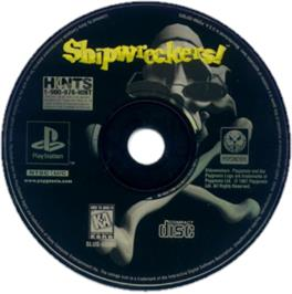 Artwork on the CD for Shipwreckers! on the Sony Playstation.