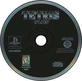 Artwork on the CD for Tetris Plus on the Sony Playstation.