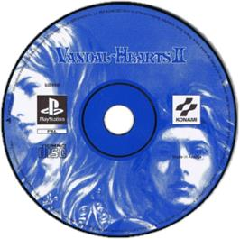 Artwork on the CD for Vandal Hearts II on the Sony Playstation.