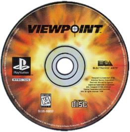Artwork on the CD for Viewpoint on the Sony Playstation.