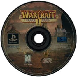 Artwork on the CD for Warcraft II: The Dark Saga on the Sony Playstation.