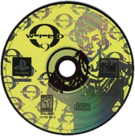 Artwork on the CD for Wild 9 on the Sony Playstation.
