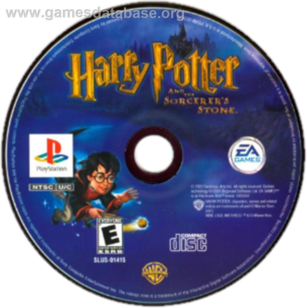 Harry Potter and the Sorcerer's Stone - Sony Playstation - Artwork - CD