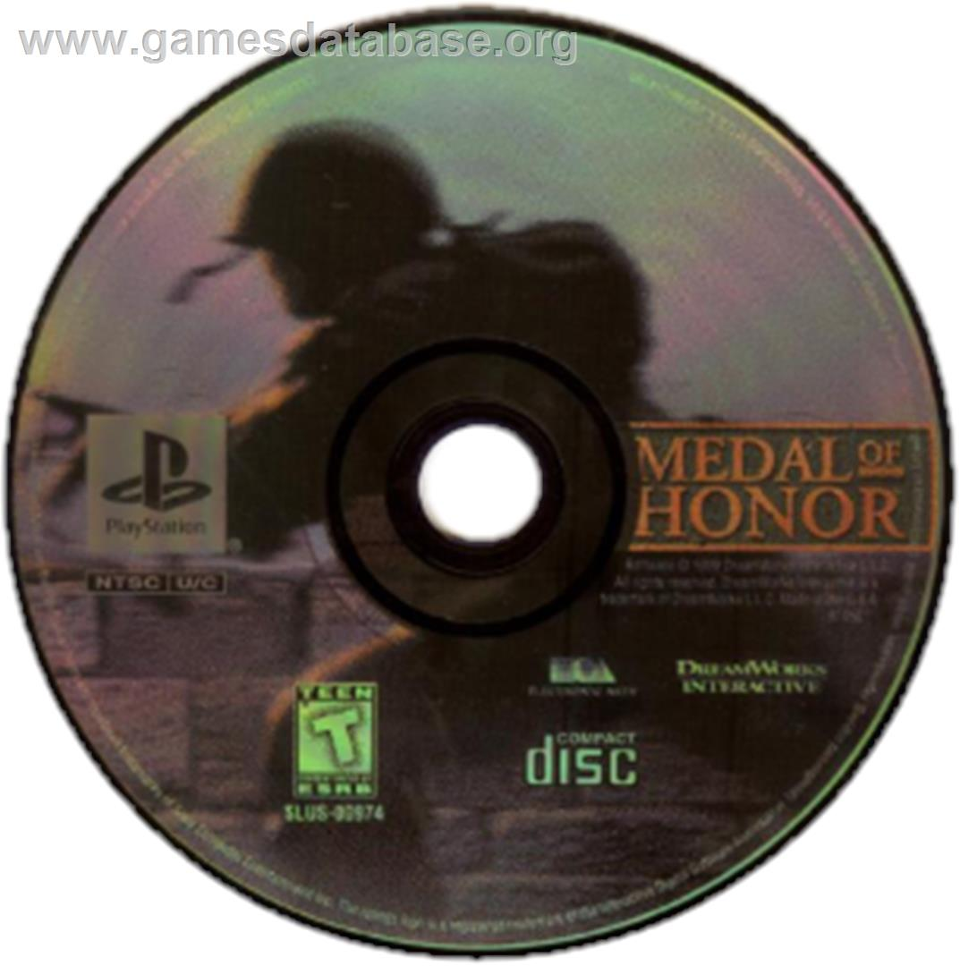 Medal of Honor / Medal of Honor: Underground - Sony Playstation - Artwork - CD