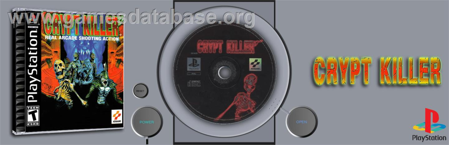 Crypt Killer - Sony Playstation - Artwork - Marquee