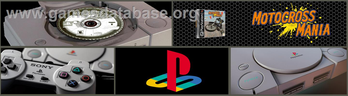 Motocross Mania - Sony Playstation - Artwork - Marquee
