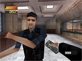 In game image of 007: The World is Not Enough on the Sony Playstation.
