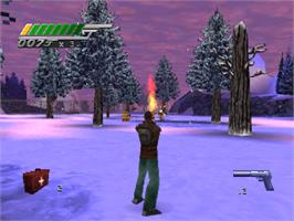 In game image of 007: Tomorrow Never Dies on the Sony Playstation.