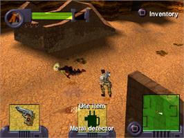 In game image of Action Man: Operation Extreme on the Sony Playstation.