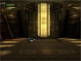 In game image of Alien Resurrection on the Sony Playstation.