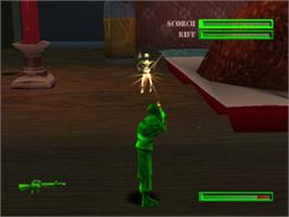 In game image of Army Men: Sarge's Heroes 2 on the Sony Playstation.