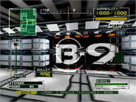 In game image of BRAHMA Force: The Assault on Beltlogger 9 on the Sony Playstation.