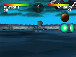 In game image of Battlesport on the Sony Playstation.