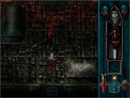 In game image of Blood Omen: Legacy of Kain on the Sony Playstation.
