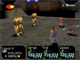 In game image of Chrono Cross on the Sony Playstation.