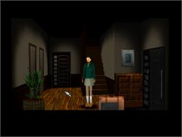 In game image of Clock Tower 2: The Struggle Within on the Sony Playstation.