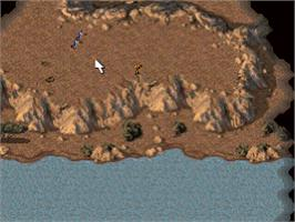In game image of Command & Conquer on the Sony Playstation.