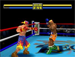 In game image of Contender 2 on the Sony Playstation.
