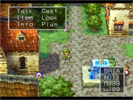 In game image of Dragon Warrior VII on the Sony Playstation.