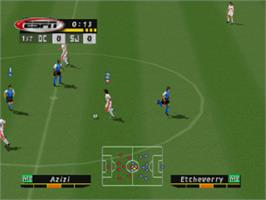In game image of ESPN MLS GameNight on the Sony Playstation.