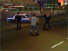 In game image of Fighting Force on the Sony Playstation.