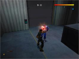 In game image of Fighting Force 2 on the Sony Playstation.