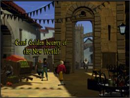 In game image of Gold and Glory: The Road to El Dorado on the Sony Playstation.