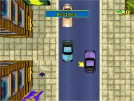 In game image of Grand Theft Auto: The Classics Collection on the Sony Playstation.