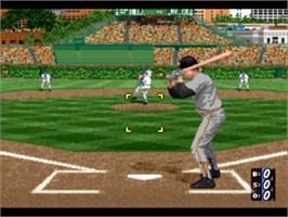 In game image of Hardball 5 on the Sony Playstation.