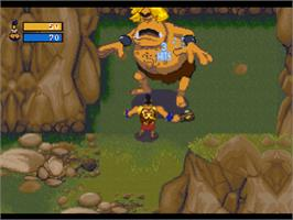 In game image of Herc's Adventures on the Sony Playstation.