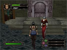 In game image of Kagero: Deception II on the Sony Playstation.