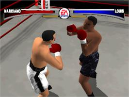 In game image of Knockout Kings on the Sony Playstation.