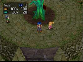 In game image of Legend of Legaia on the Sony Playstation.