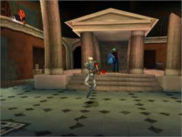 In game image of MediEvil II on the Sony Playstation.