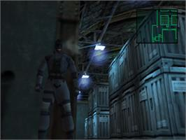 In game image of Metal Gear Solid: The Essential Collection on the Sony Playstation.