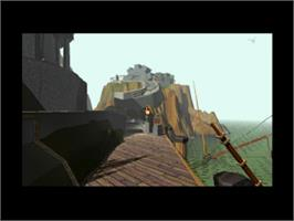 In game image of Myst on the Sony Playstation.