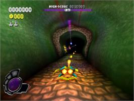 In game image of N2O Nitrous Oxide on the Sony Playstation.