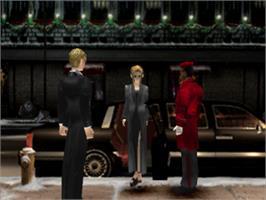 In game image of Parasite Eve on the Sony Playstation.