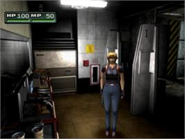 In game image of Parasite Eve II on the Sony Playstation.