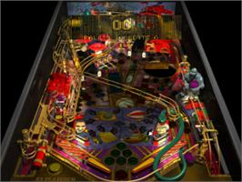 In game image of Pro Pinball: Fantastic Journey on the Sony Playstation.