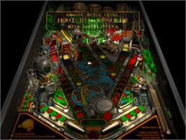 In game image of Pro Pinball: Timeshock! on the Sony Playstation.