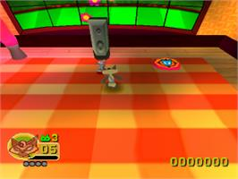 In game image of Rat Attack on the Sony Playstation.