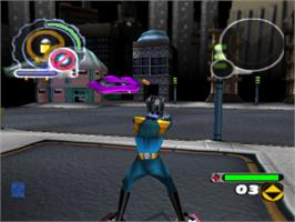 In game image of ReBoot on the Sony Playstation.