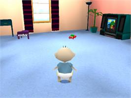 In game image of Rugrats: Search for Reptar on the Sony Playstation.